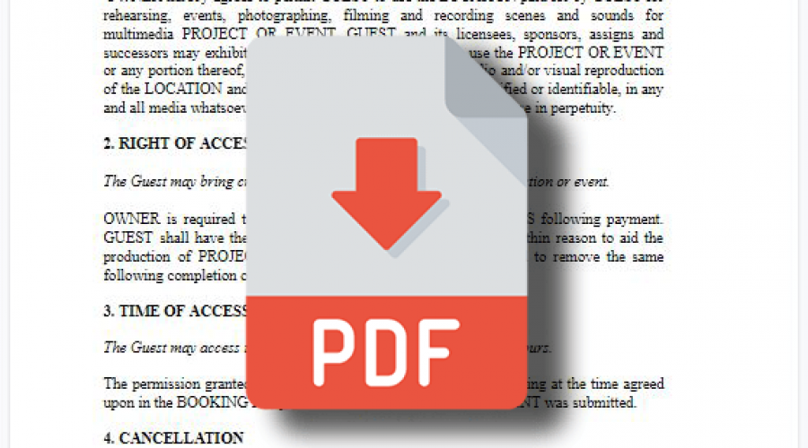 Location Agreement Explained and PDF Download