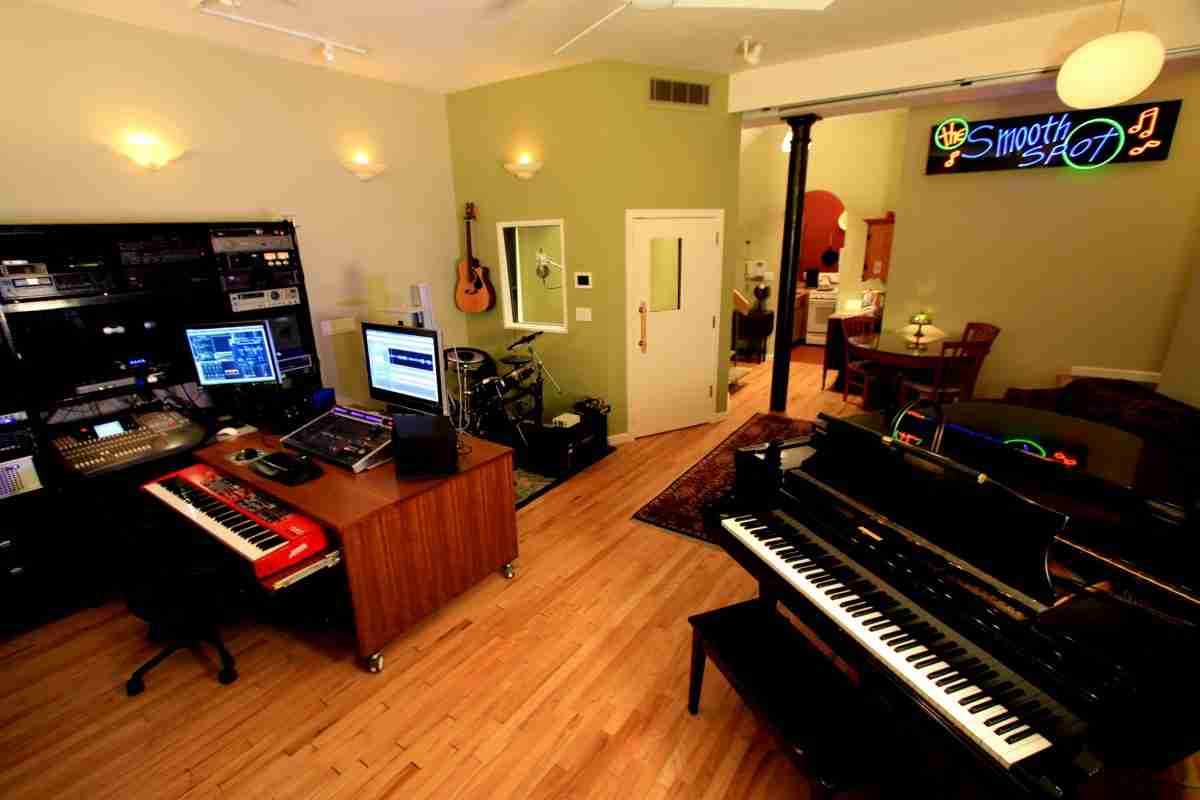 manhattan recording studio for rappers and singers and other musicians