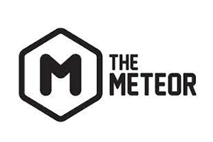 the meteor theater logo